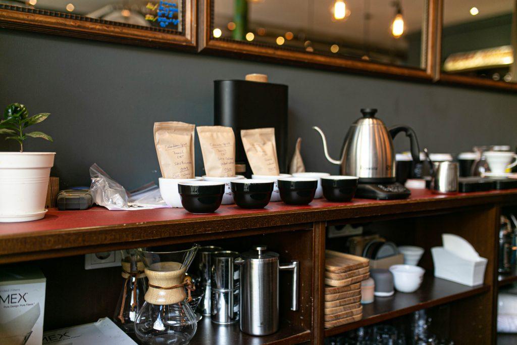 Kaffee Schamong Bar Tassen Atmosphär