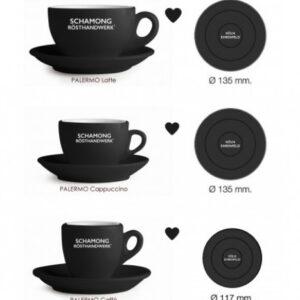 Barista Tasse Schamong Espresso Kaffee Schwarz