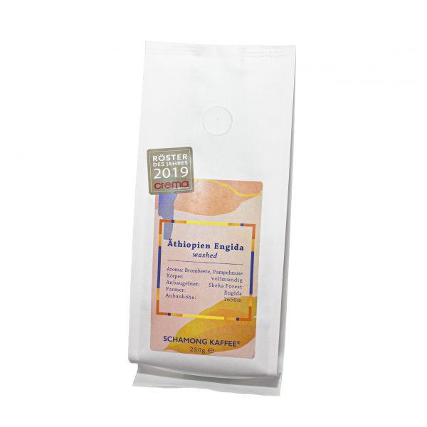 Schamong Kaffee Afrika Äthiopien Engida