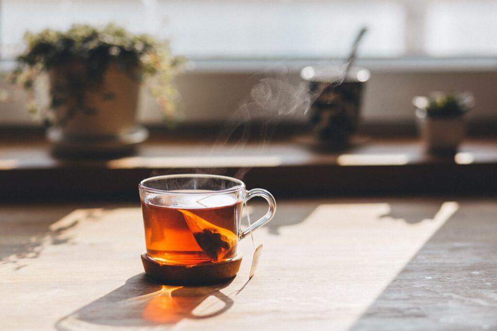 Tee Tasse Warm Schamong