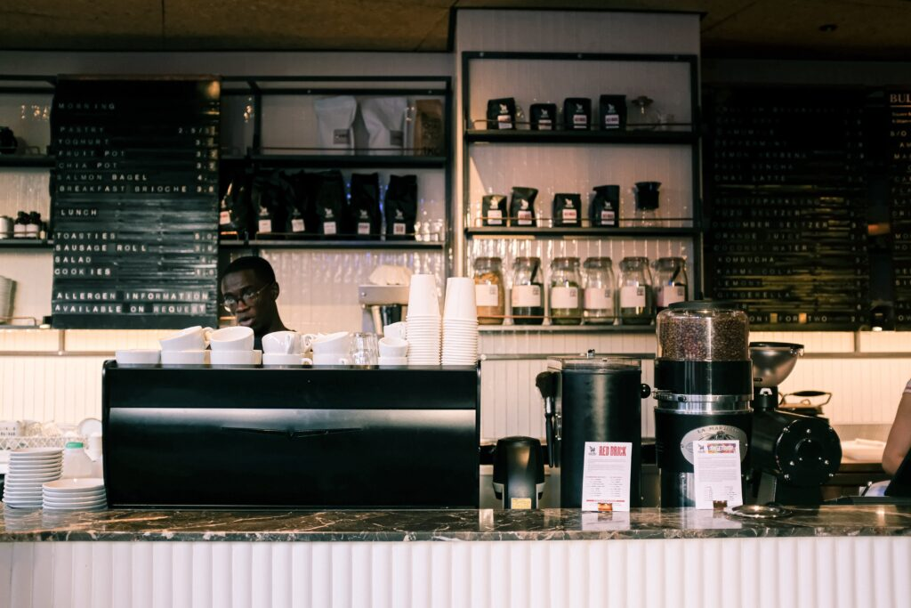 Kaffeeladen Theke