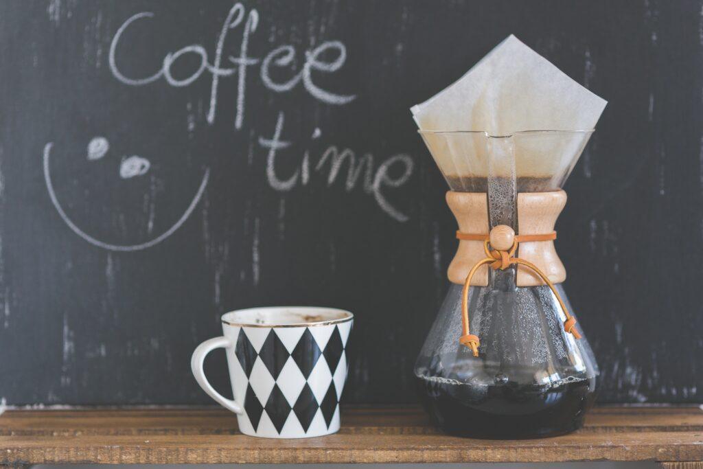 Chemex Kaffee Zeit